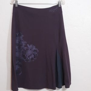 Life is good Purple Skirt size Small